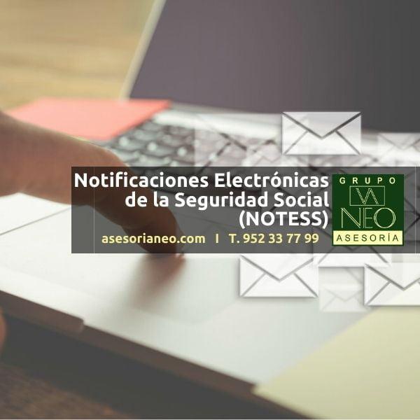 Notificaciones Electrónicas de la Seguridad Social (NOTESS)