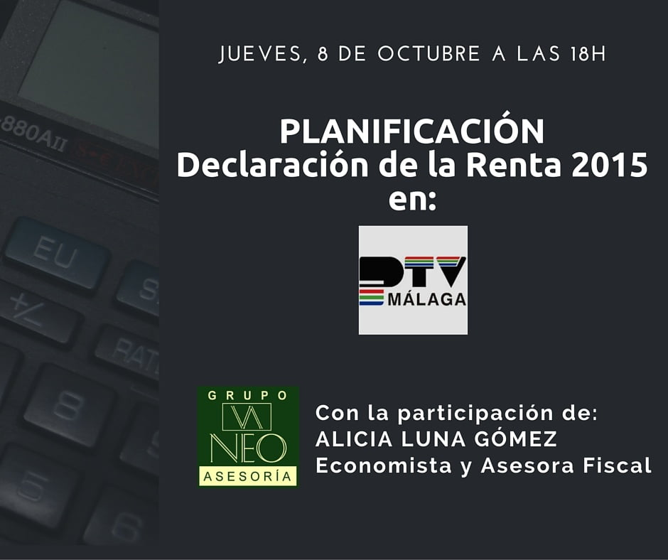 Planificación RENTA 2015 (programa de TV)