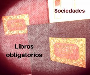 Libros obligatorios para sociedades