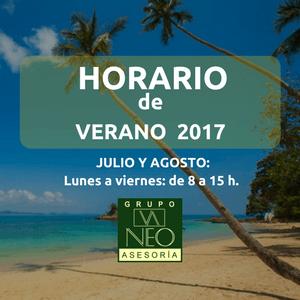 Horario de verano 2017
