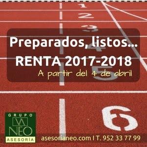 Preparados, listos… Renta 2017-2018