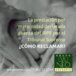 maternidad_exenta_irpf_como_reclamar