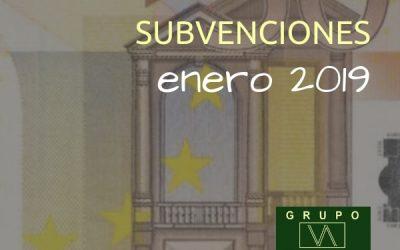 Subvenciones empresas y autónomos Andalucía | ENERO 2019