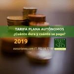 cuotas_y_duracion_tarifa_plana_autonomos_2019