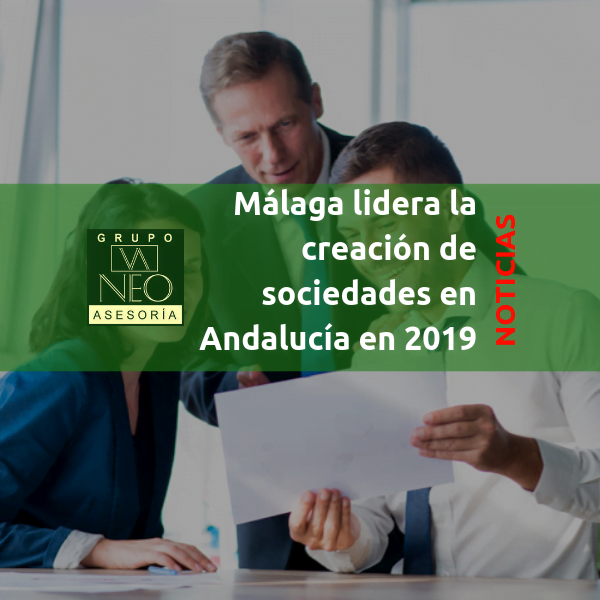 Málaga lidera la creación de sociedades en Andalucía
