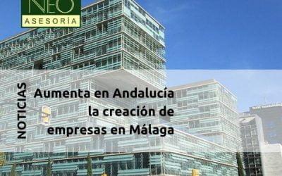 Aumenta en Andalucía la creación de empresas en Málaga