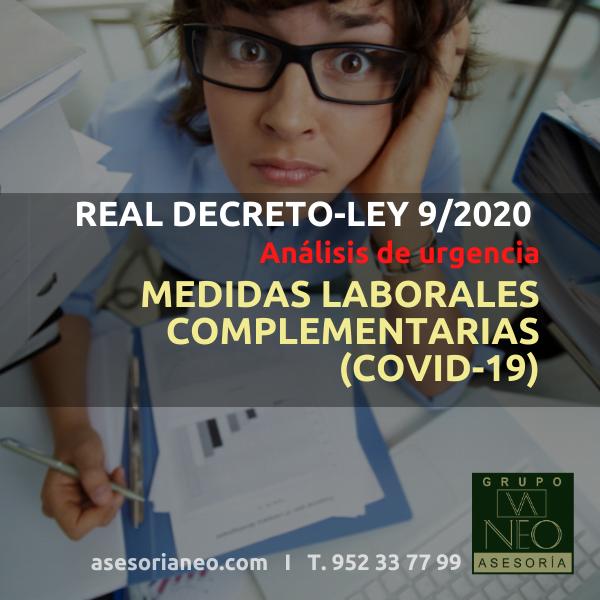 real-decreto-ley-9-2020-medidas-laborales-complementarias