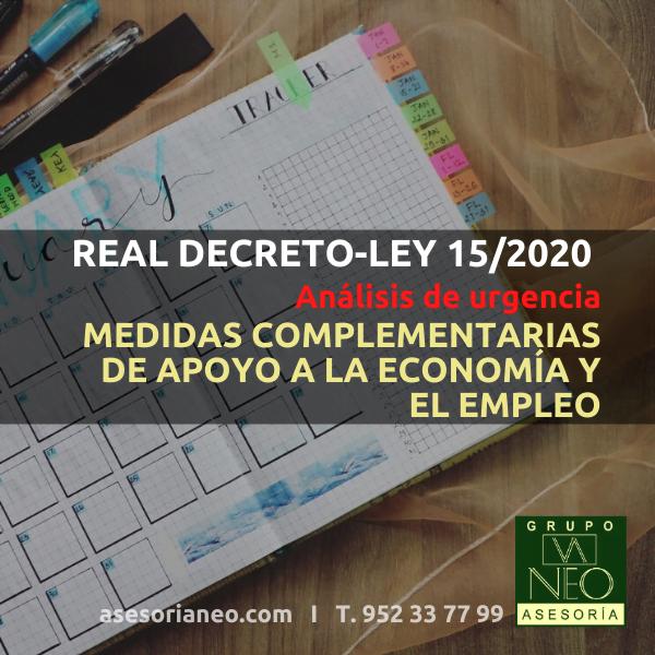 real-decreto-ley-15-2020-apoyo-economia-empleo