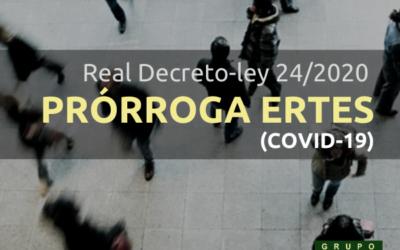Prórroga ERTEs COVID-19
