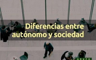 Diferencias entre autónomo y sociedad
