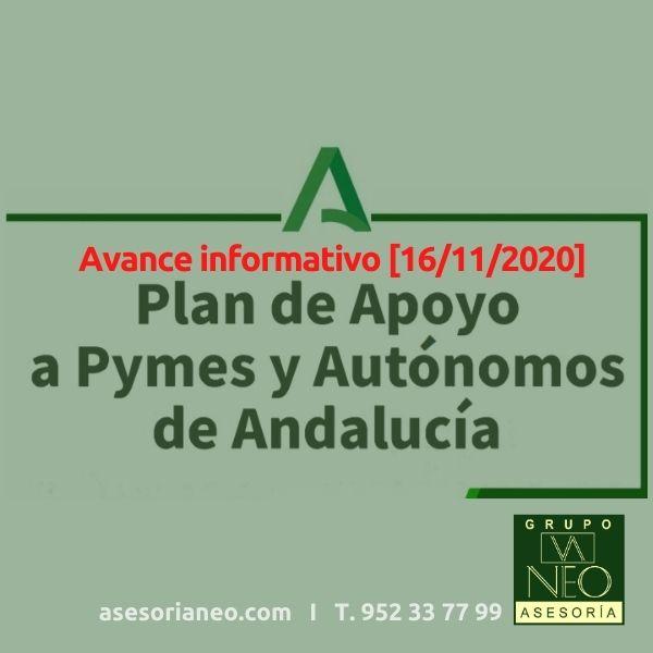 Plan de apoyo a pymes y autónomos en Andalucía