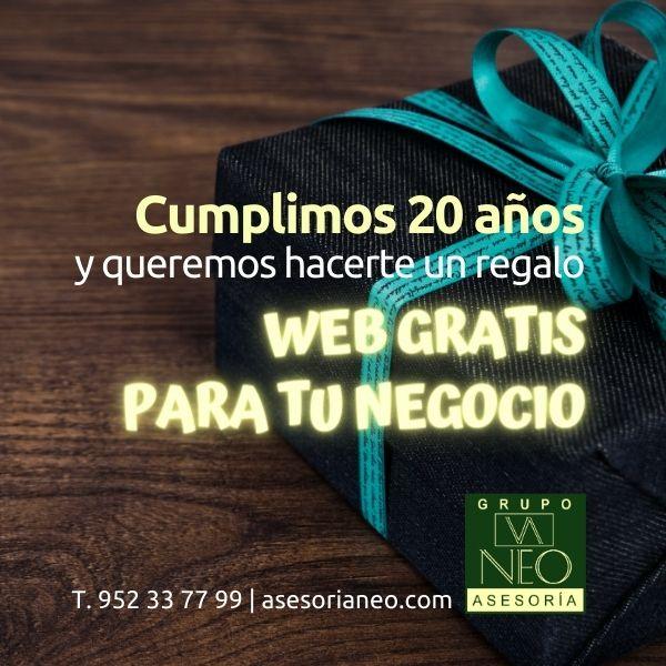 ¿Quieres una web gratis para tu empresa?