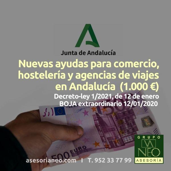 Nuevas-ayudas-1000-euros-comercio-hosteleria-agencias-viajes-decreto-ley-1-2021