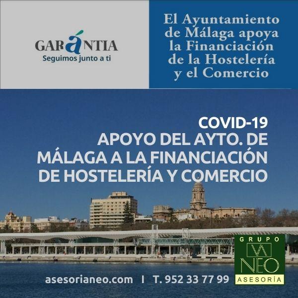 Apoyo a la financiación de hostelería y comercio (Ayto. Málaga)