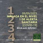 malaga-nivel-1-alerta-sanitaria-9-9-2021